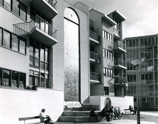 Woningbouw Zuiderkerkhof / Housing Zuiderkerkhof ( H.L. Hagenbeek )
