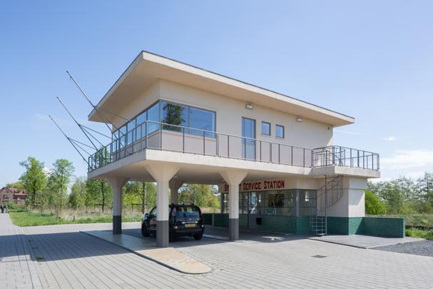 Benzinestation Den Bosch / Petrol Station Den Bosch ( A.V.J.M. Meijlink )