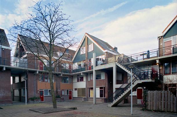 Woningbouw Molenvliet / Housing Molenvliet ( F.J. van der Werf (SAR) )