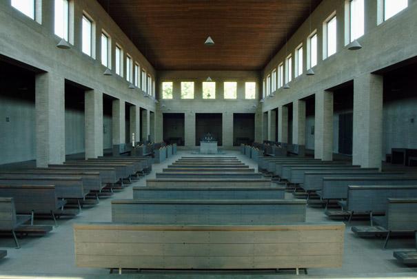 RK kapel, klooster Sint-Benedictusberg / Chapel, Monastery Sint-Benedictusberg ( Dom J.Th. van der Laan )