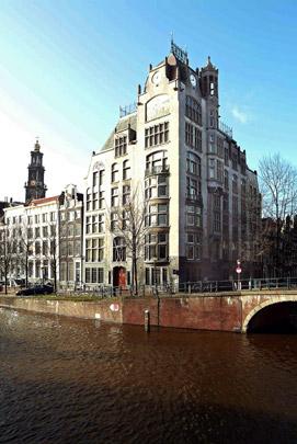 Kantoorgebouw Eerste Hollandsche Levensverzekeringsbank / Office Building Eerste Hollandsche Levensverzekeringsbank ( G.A. van Arkel )