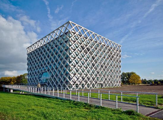 Atlasgebouw Landbouwuniversiteit / Atlas Building Agricultural University ( R. Viñoly, Van den Oever Zaaijer )