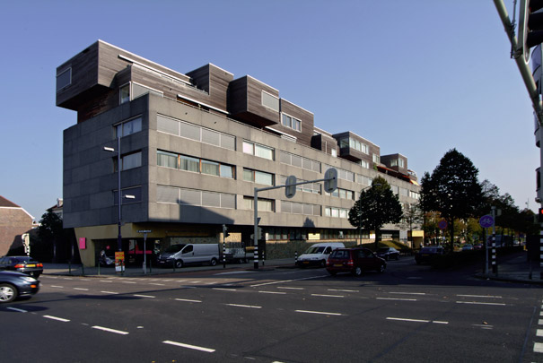 Woongebouw Wilhelminastraat / Housing Block Wilhelminastraat ( Neutelings Riedijk )