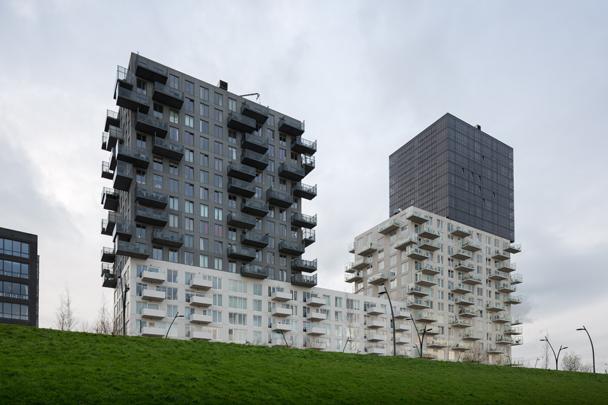 Woongebouw De Vier Werelddelen / Housing Block De Vier Werelddelen ( R. Winkel (Mei Architecten) )