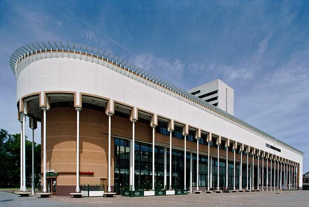 Stadhuis Schiedam/Theater aan de Schie / Town Hall Schiedam/Theatre ( H.J.M. Ruijssenaars (de Architectengroep) )