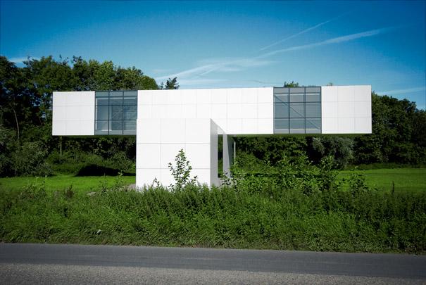 Tentoonstellingspaviljoen Leidsche Rijn / Exhibition Pavilion Leidsche Rijn ( S.E. Brouwn )