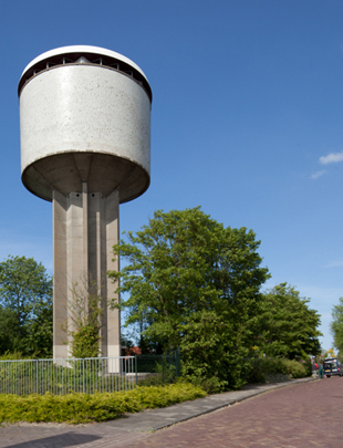 Watertoren Dokkum / Water Tower Dokkum ( J.J.M. Vegter )