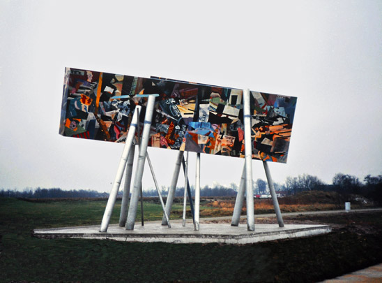 Stadsmarkeringen Groningen / City markers Groningen ( D. Libeskind i.s.m. diverse architecten )