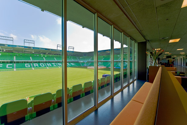 Stadion Euroborg / Football Stadium Euroborg ( W.M.J. Arets )