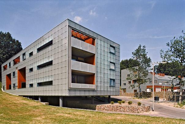 Woningbouw Nieuw Monnikenhuizen / Housing Nieuw Monnikenhuizen ( Diverse architecten )