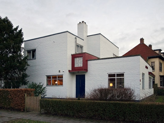 Woonhuis Vink (Linea Recta) / Private House Vink (Linea Recta) ( L.C. van der Vlugt, K. Siekman Azn. )