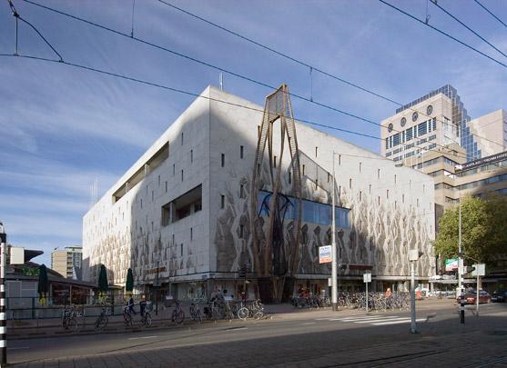 Warenhuis De Bijenkorf Rotterdam / Department Store De Bijenkorf Rotterdam ( M. Breuer, A. Elzas )