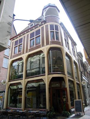 Winkel / woonhuis Maarsmansteeg, Breestraat  / Retail premises Breestraat  ( H.J. Jesse, W. Fontein )