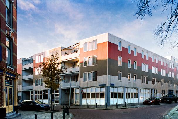 Woningbouw Adrianastraat, Van Speykstraat / Housing Adrianastraat, Van Speykstraat ( De Nijl )