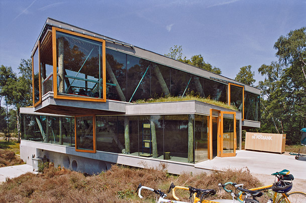 Paviljoen De Posbank / Tea House De Posbank ( B. Mastenbroek (Architectengroep/SeARCH) )