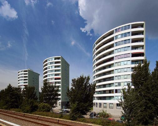 Woningbouw Veerse Heuvel / Housing Veerse Heuvel ( Dobbelaar De Kovel De Vroom (DKV) )