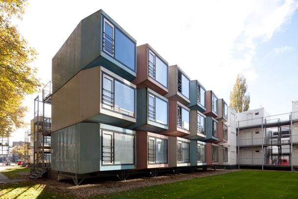Studentenhuisvesting TU Delft (De Vijf) / Student Accomodation TU Delft (De Vijf) ( M. de Jong (De Vijf) )