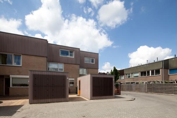 Woningbouw Stichting Nieuwe Woonvormen / Housing Stichting Nieuwe Woonvormen ( H. Klunder )