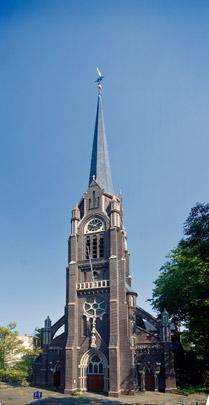 RK kerk Sint Lambertus Rotterdam / Roman Catholic Church Rotterdam (St. Lambertus) ( E.J. Margry )