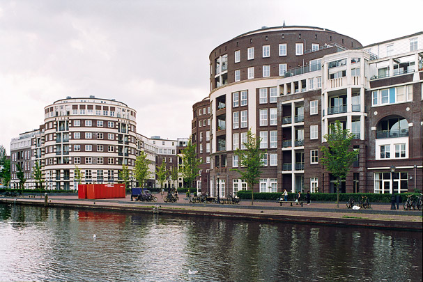 Woongebouw De Meander / Housing Block De Meander ( Krier & Kohl )