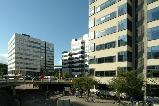 Kantongerecht Amsterdam / Courthouse Amsterdam ( B. Loerakker (VDL) )
