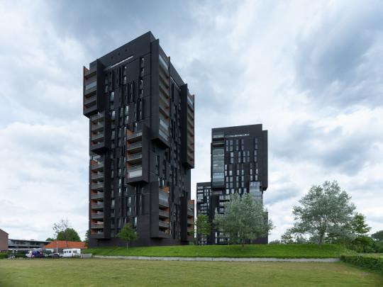 Woningbouw De Sculpturen / Housing De Sculpturen ( Bedaux De Brouwer Architecten )