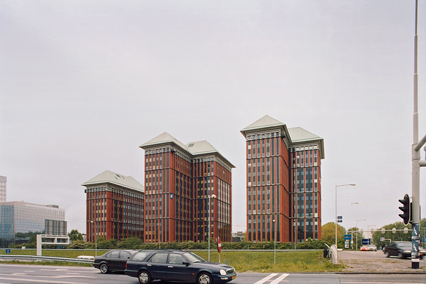 Kantoorgebouw Queens Towers / Office Building Queens Towers ( C.J.M. Weeber (de Architekten Cie.) )