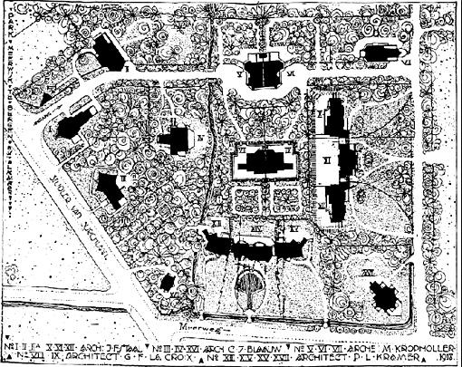 Park Meerwijk / Park Meerwijk ( C.J. Blaauw, J.F. Staal, M. Staal-Kropholler, P.L. Kramer, G.F. LaCroix )