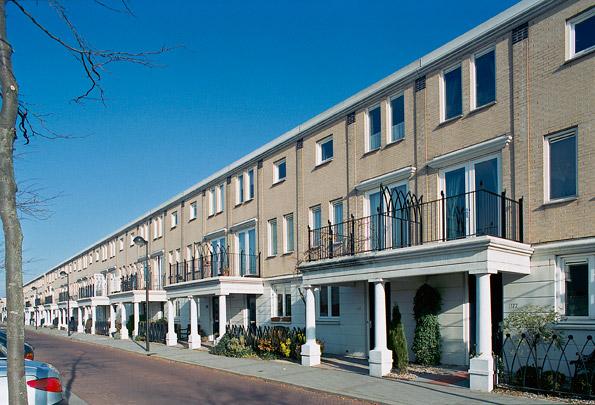 Woningbouw De Strijp / Housing De Strijp ( A.M. Nowotny (Groep 5) )