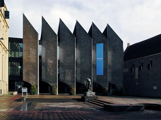 Uitbreiding Stadhuis Zwolle / Town Hall Extension Zwolle ( J.J. Konijnenburg )