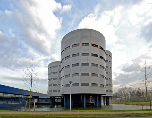 Hoofdkantoor Flkt / Headquarters Flkt ( P.J. Gerssen ) 