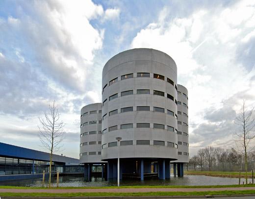 Hoofdkantoor Fläkt / Headquarters Fläkt ( P.J. Gerssen )