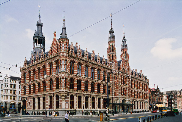 Postkantoor Amsterdam (Winkelcentrum Magna Plaza) / Post Office Amsterdam (Shopping Centre Magna Plaza) ( C.H. Peters )