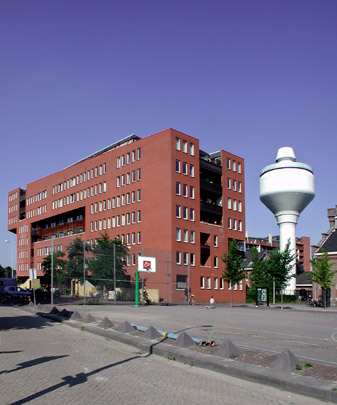 Woningbouw GWL-terrein (Neutelings Riedijk) / Housing, Urban Design (Neutelings Riedijk) ( Neutelings Riedijk )