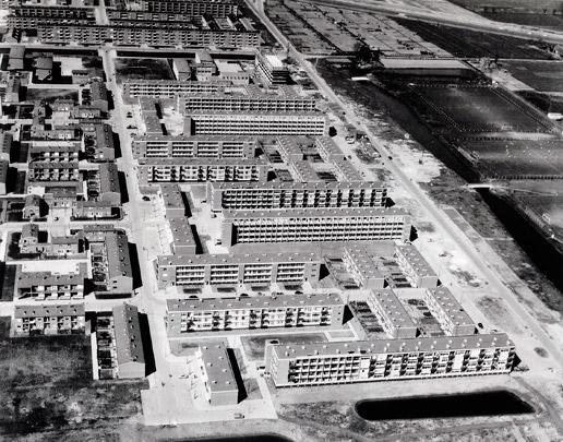 Stedenbouwkundig plan Pendrecht / Urban Design Pendrecht ( C.I.A. Stam-Beese )