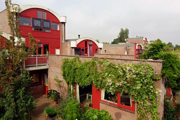 Centraal Wonen Hilversumse Meent / Central Living Complex Hilversumse Meent ( De Jonge, Dorst, Lubeek, De Bruijn, De Groot )
