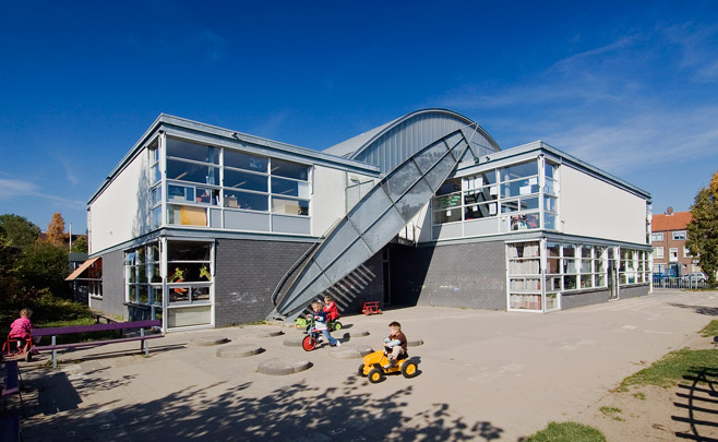 Basisschool Anne Frank / Primary School Anne Frank ( H. Hertzberger )