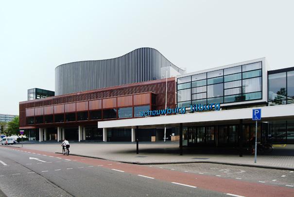 Schouwburg Tilburg / Theatre Tilburg ( B. Bijvoet, G.H.M. Holt )