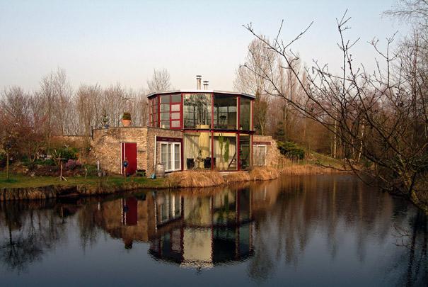 Atelierwoning Langezwaag / Studio House Langezwaag ( G. Daan )
