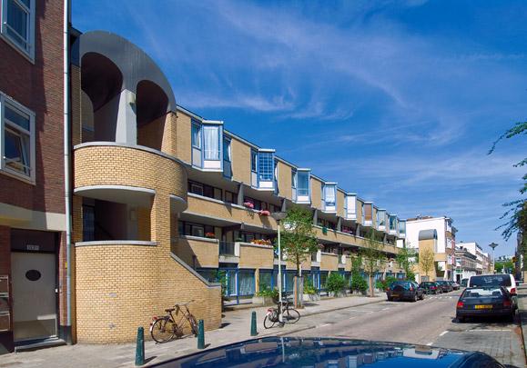 Woningbouw Gouvernestraat  / Housing Gouvernestraat  ( B. Hoek (Studio Acht) )
