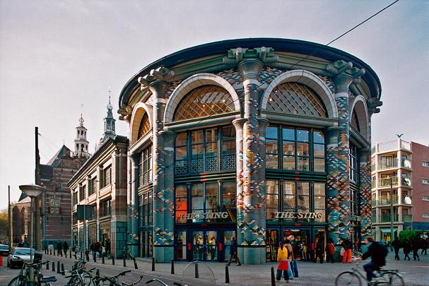 Winkelgebouw De Snoeptrommel / Shoppingmall De Snoeptrommel ( J. Outram )