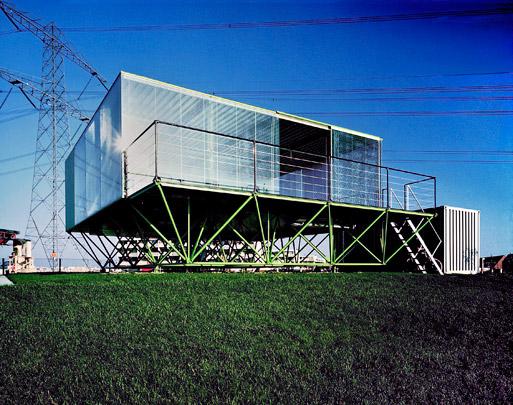 Eigen woonhuis Benthem (Hardglas) / Own House (Hardglas) ( Benthem Crouwel )