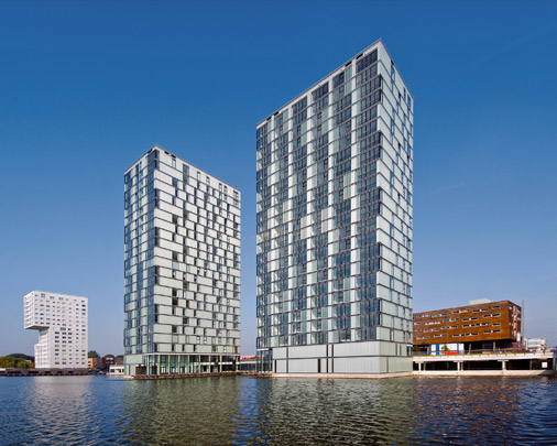 Woongebouw Side by Side / Housing Block Side by Side ( F.J. van Dongen (de Architekten Cie.) )