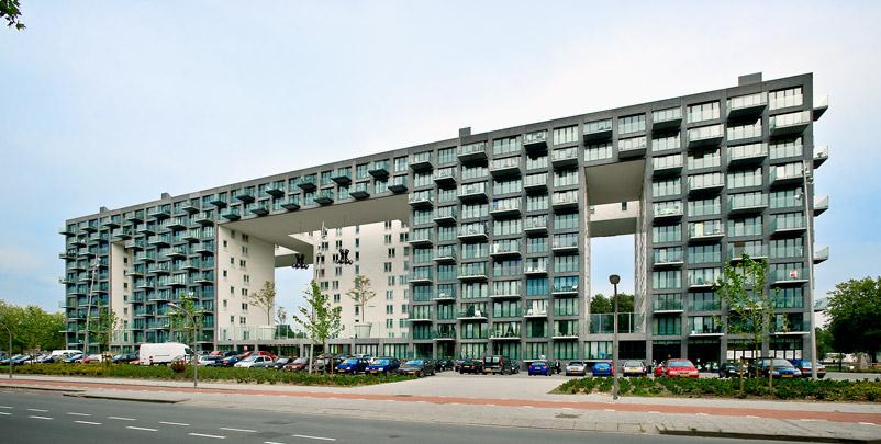 Woongebouw Eendrachtspark / Housing Block Eendrachtspark ( MVRDV )