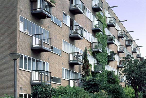 Atelierwoningen Zomerdijkstraat  / Studio Houses Zomerdijkstraat  ( Zanstra, Giesen, Sijmons )