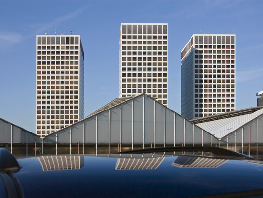 Kantoorgebouw Europoint / Office Building Europoint ( Skidmore, Owings & Merrill )