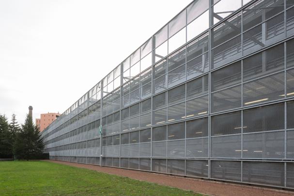 Parkeergarage Interpolis / Car Park Interpolis ( Benthem Crouwel i.s.m. A. Bonnema )