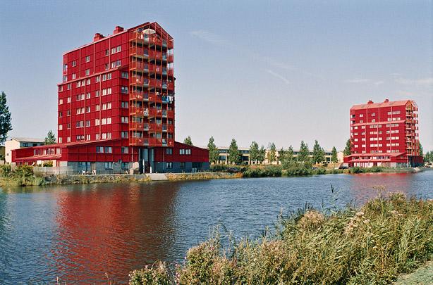Woningbouw Rooie Donders / Housing Red Rascals ( E.M. van der Pol (Atelier Zeinstra Van der Pol) )
