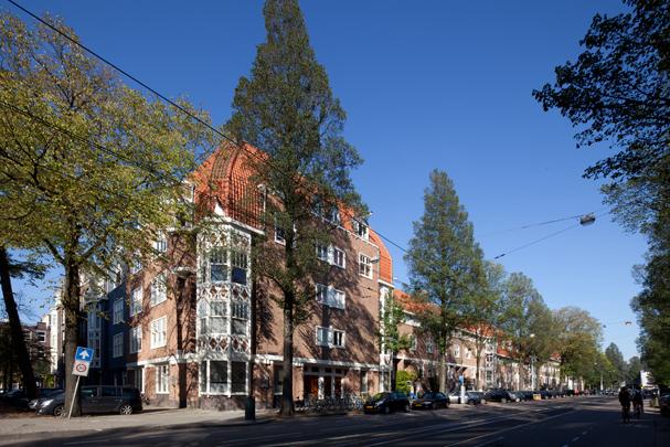 Woningbouw De Lairessestraat / Housing De Lairessestraat ( H.L. de Jong )