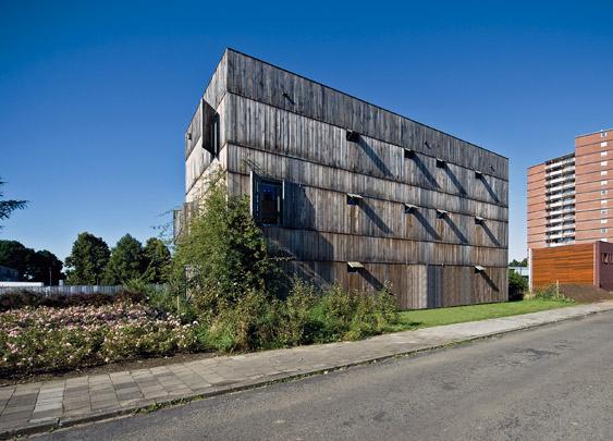 Woon-werkhuis Maastricht / Live-Work House Maastricht ( Chr. Seyferth )